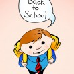 Schoolboy — Stock Vector