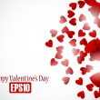 Valentine background — Vector de stock #34008387