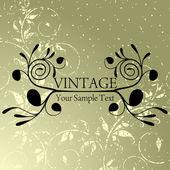 Vintage background — Wektor stockowy