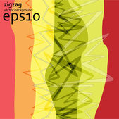 Zigzag background — Stock Vector