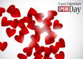 Valentine background — Vettoriale Stock