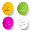 Time sticker — Image vectorielle