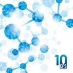 molécula de ADN, antecedentes — Vector de stock