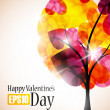 Valentine tree — Stock Vector #34013701