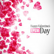 Valentine background — Wektor stockowy #34013805