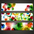 Banner with abstract pattern — Stock Vector #34015933