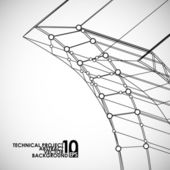 Technical background — Stockvektor