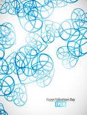 Фон Дня святого Валентина — Cтоковый вектор