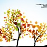 Autumn tree background — Stock Vector #34047429