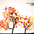 Autumn tree background — Stock Vector #34047475