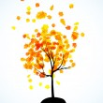 Autumn tree background — Stock Vector #34047531