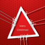 Merry christmas card — Stock Vector #34047695