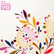 Floral background — Stock Vector #34070031