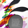 Multi layered abstract background — Stock Vector #34080443