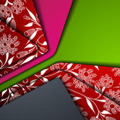 Multi layered abstract background — 图库矢量图片