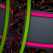 Multi layered abstract background — Vector de stock