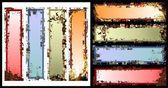 Banner de textura — Vector de stock