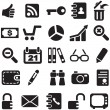 Collection icons. - Stock Vector