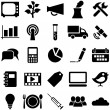 Set icons and symbols. - Stock Vector