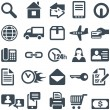 Icons for the web site or mobile app. - Image vectorielle