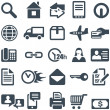 icons for the web site or mobile app. — Stock Vector