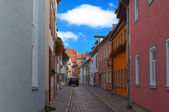 Narrow european street. — Stock Photo
