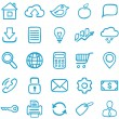 Hand-drawn icons for design. — Stock Vector