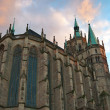 Dome Cathedral in Erfurt, Germany. — Stock Photo