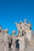 Group of sculptures in the Vigeland Park. — Stock Photo