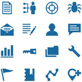 Collection of vector icons for design. — Stock Vector
