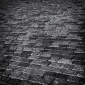 Cobbles abstract background. — Stock Photo