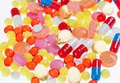 Hap, Tablet ve ilaçlar, tıbbi geçmişi — Stok fotoğraf