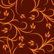 Floral seamless pattern. - Stockvectorbeeld