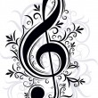 Musical decor — Vector de stock #13199304