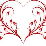 Abstract heart. — Stock Vector