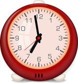 Classic home clock — Stock Vector