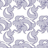 Vector seamless floral pattern. — Vetor de Stock