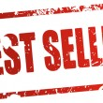 Best seller rubber stamp. — Stock Vector