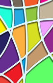 Stained glasses. Vector. — Vector de stock
