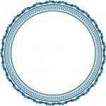 Vintage round frame — Stock Vector #36976481