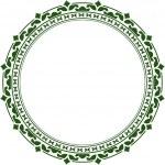 Elegant round frame — Stock Vector #36976483