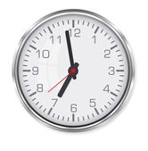 Elegant office clock  — Stock Vector