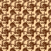 Abstract grunge seamless pattern — Stock Vector