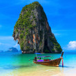 Summer beach tropical landscape Thailand island scenic backgrou — Stock Photo