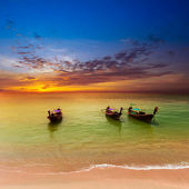 Sea landscape nature background — Stock Photo