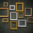 Picture frame vector. Photo art gallery.Picture frame vector. Ph - Imagens vectoriais em stock