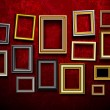 Picture frame vector. Photo art gallery.Picture frame vector. Ph - Stock vektor