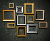 Bild rahmen vektor. foto kunst gallery.picture rahmen vektor. ph — Stockvektor