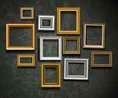 Picture frame vector. Photo art gallery.Picture frame vector. Ph — Vector de stock