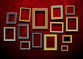 Picture frame vector. Photo art gallery.Picture frame vector. Ph — Stok Vektör